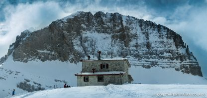 Frozen Ambrosia Film in Greece - The Christos Kakkalos refuge on Mount Olympos, Greece