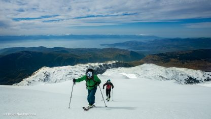 Frozen Ambrosia Film in Greece - Ski touring on Mount Parnassos, Greece