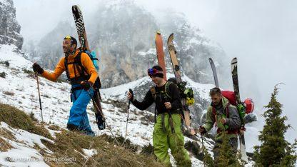 Frozen Ambrosia Film in Greece - Ski mountaineering on Astraka Mountain in Greece