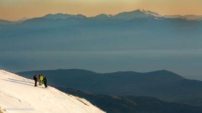 Frozen Ambrosia Film in Greece - Ski touring on Mount Parnassos in Greece