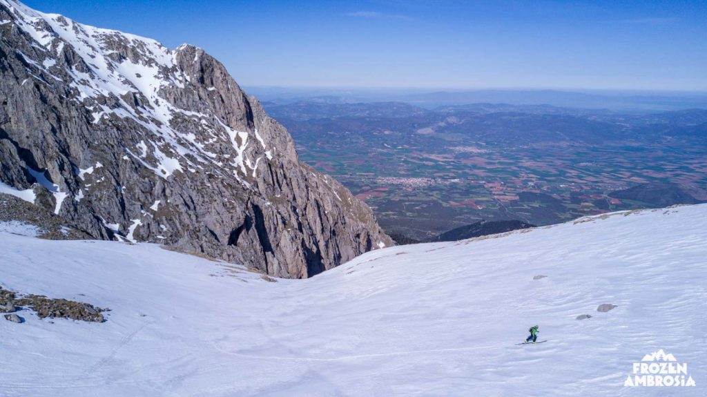 Ski touring in Parnassos