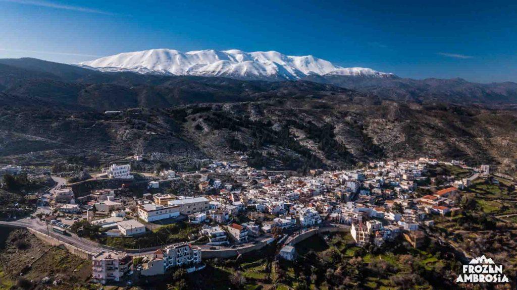 Ski touring in Psiloritis, Crete